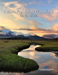 Alaska Population Projections 2010 - 2035 - Research and Analysis ...