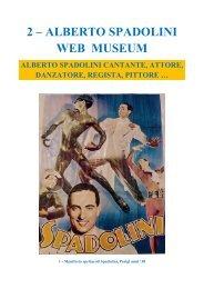 2 – ALBERTO SPADOLINI WEB MUSEUM