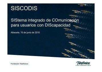 SISCODIS-20100629 [Modo de compatibilidad] - CRMF Albacete