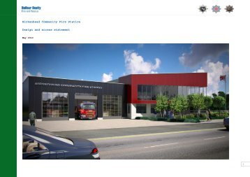 Birkenhead Community Fire Station Design and access statement