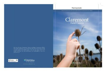 Claremont Field Centre - Toronto and Region Conservation Authority