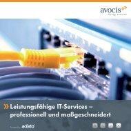 Leistungsfähige IT-Services – professionell und ... - adato