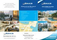 CALYPSO PLAZA - Oaks Hotels & Resorts