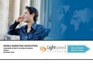 Consumer Interest in Mobile Banking - Mobile Marketing Association