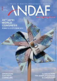 ANDAF Magazine n. 3 – 2010