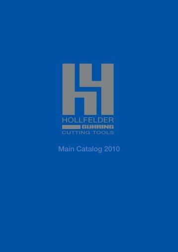 Hollfelder catalog - Guhring