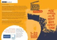 Film - Scottish Mental Health Arts & Film Festival