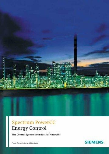 Spectrum PowerCC Energy Control - Siemens