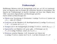 Folienskript zur Prädikatenlogik (pdf)