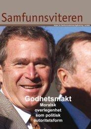 Samfunnsviteren 1/2006 - Samfunnsviterne