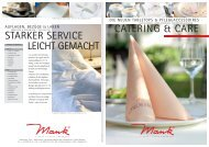 catering & care starker service leicht gemacht - Alfred Mank GmbH