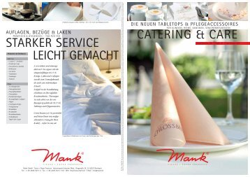 catering & care starker service leicht gemacht - Alfred Mank GmbH