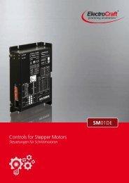 Controls for Stepper Motors SM01DE - ElectroCraft