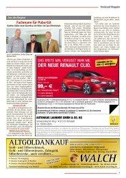 Kopierer - Drucker - Fax - KreisLauf Magazin