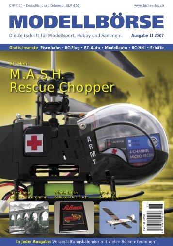 M.A.S.H. Rescue Chopper - Modellbörse