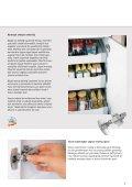 Mükemmel fren sistemi ve kusursuz tasarımlı menteşe. Sensys - Page 5
