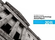 Annual Report 2011 - The Malta Council for Science & Technology