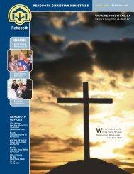 INSIDE - Rehoboth Christian Ministries