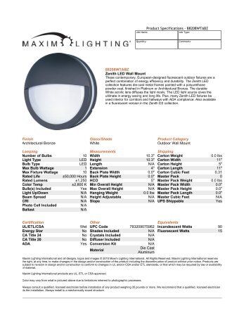 Brochure - Albrite Lighting