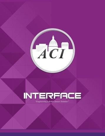 Interface Devices - Automation Components, Inc.