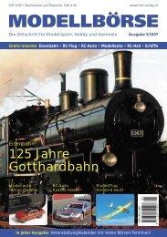 125 Jahre Gotthardbahn - Modellbörse