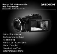 Design Full HD Camcorder mit Touchscreen Instruction manual ...