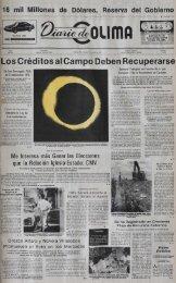 Los Créditos al Campo Deben Recuperarse - Universidad de Colima