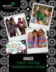 Troop Cookie Coordinator Guide 2013 - Girl Scouts of Central Illinois