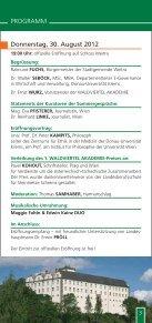 Sommergespräche 2012 - Waldviertel Akademie - Page 3