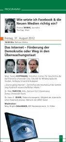 Sommergespräche 2012 - Waldviertel Akademie - Page 5