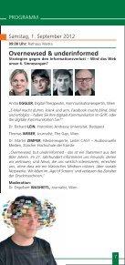 Sommergespräche 2012 - Waldviertel Akademie - Page 7