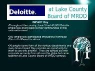 at Lake County Board of MRDD