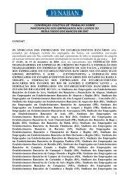 PLR Fenaban 2007/2008 - Sindicato dos Bancários do Maranhão