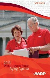 2013 Aging Agenda - Washington Association of Area Agencies on ...