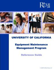 REMI Group UC Reference Guide - UC Davis Contracting Services