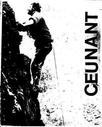 May 1967 - Ceunant Mountaineering Club