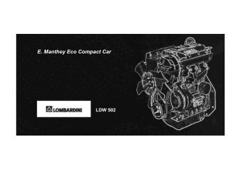 Ersatzteilkatalog E. Manthey Eco Compact Car LDW 502