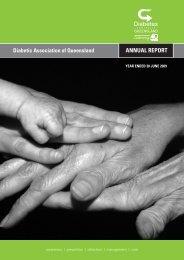 2009 Annual Report - Diabetes Queensland