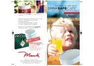 DRINKSAFECAPS® - Alfred Mank GmbH