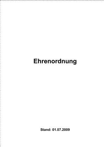 Ehrenordnung des TFV (Stand: 01.07.2010) - geraer-fussball.de