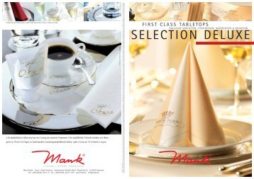 SELECTION DELUXE - Alfred Mank GmbH