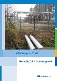 Miljörapport 2009
