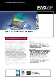 MAXDATA PRO 6110 IW Select