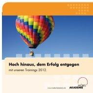 Download: Trainingsprogramm 2012 - Möbel Akademie