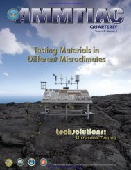 AMMTIAC Quarterly, Vol. 2, No. 3 - Advanced Materials ...