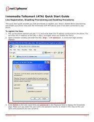 Innomedia Talksmart - Net2Phone