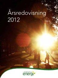 Årsredovisning 2012 - Kungälv