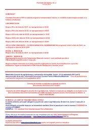 Program saptamanal - nr.21 - Frh