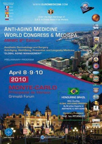 8th anti-aging medicine world congress 2010 - EuroMediCom