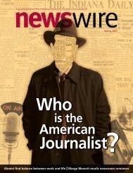 American - Indiana University School of Journalism